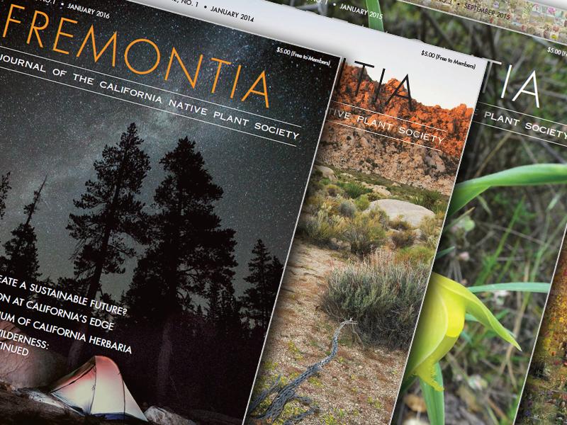 Fremontia Magazine